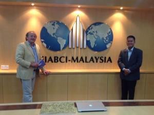 Luigi Prins brengt bezoek aan FIABCI Malaysia